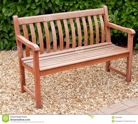 bench stock garden bench stock photo image 16018300