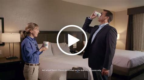 keurig commercial actress holiday inn express 174 brand reunites with actor comedian