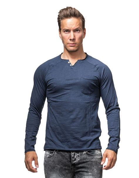 Tom Tailor by Henley Blue Tom Tailor 1264 Sleeves Jerone