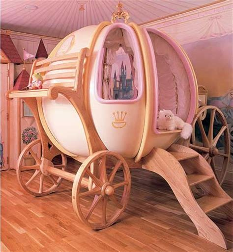 cinderella pumpkin carriage bed | simple home decoration