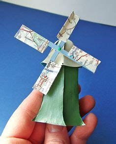 How To Make A Paper Wind Mill - 1000 images about windmills on paper windmill
