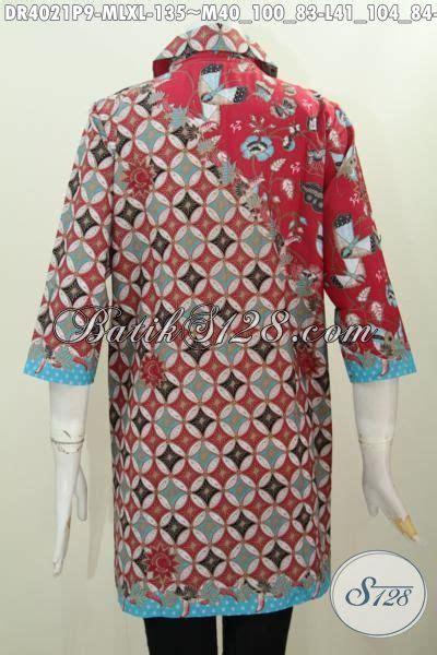 Jual Baju Ukuran jual baju dress batik printing ukuran xl busana batik