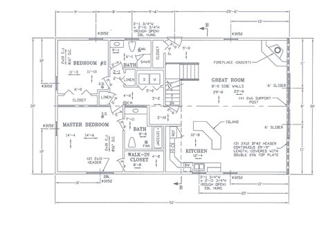 a frame chalet floor plans foremost homes misc