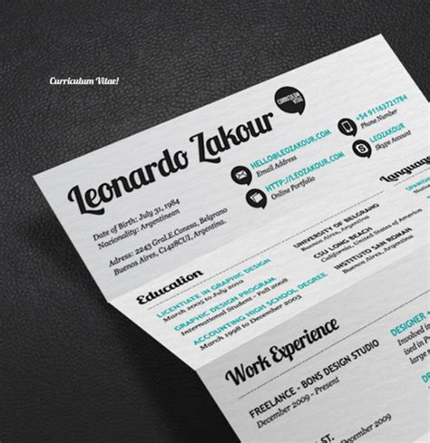most creative resumes resume infographics that got candidate hired terrific