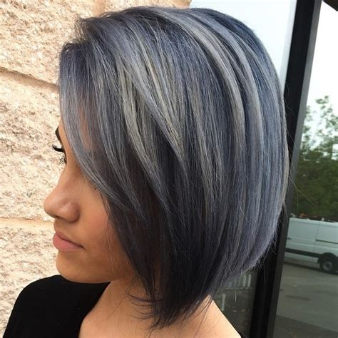 hairstyles with blended bangs bob with blended bangs picture slightly angled bob with