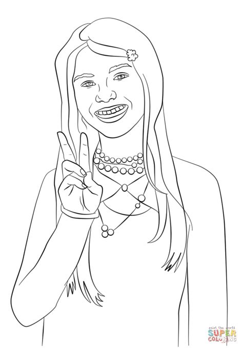 Zoey 101 Coloring Pages Coloring Home Zoey 101 Coloring Pages