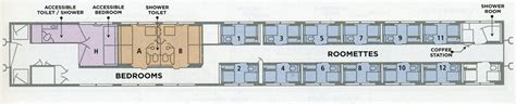 Amtrak Sleeper Car Layout by Amtrak Car Diagrams Craigmashburn