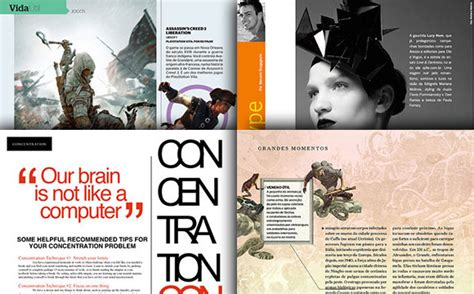 design magazine titles inspirational and attractive magazine page layouts