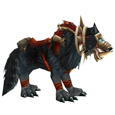 0008183848 war of the wolf warcraft mounts black war wolf