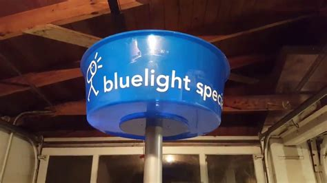 what is a light special the bluelight special is working