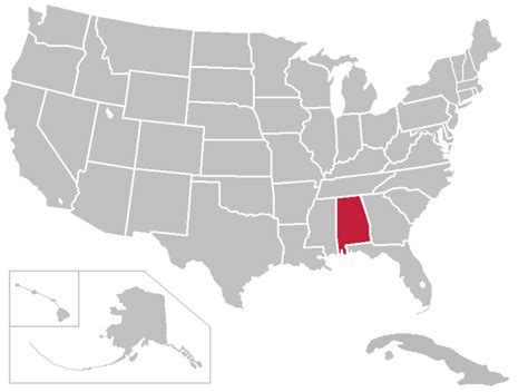 united states map with highlighted alabama divergence factor 0 229 alternative history
