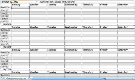 monthly day planner template weekly planner excel template documents and pdfs