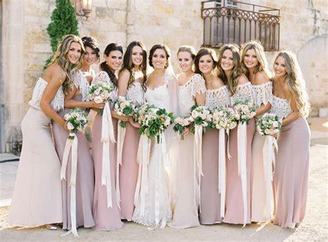 rustic wedding bridesmaid dresses wedding fashions mismatched bridesmaid dresses tulle