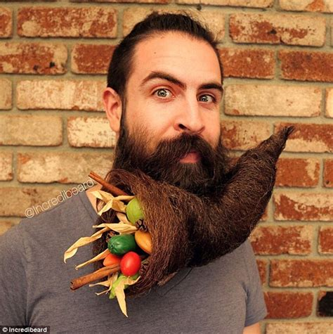 Beard Design Ideas by Artist Incredibeard Takes Beard Trend To New Lengths Daily Mail