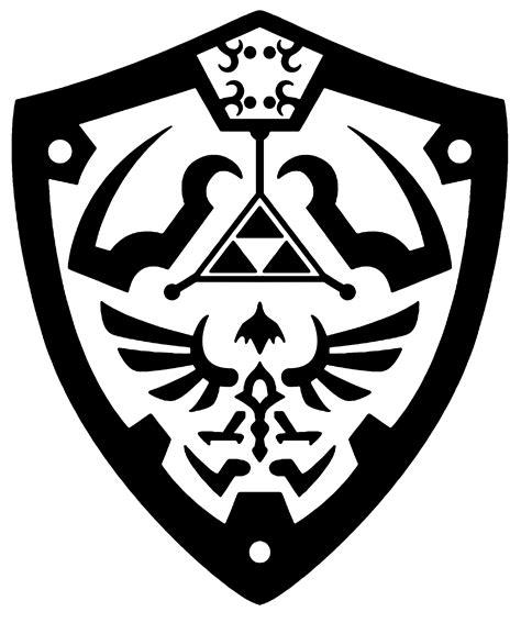 hylian shield vector  reptiletc  deviantart