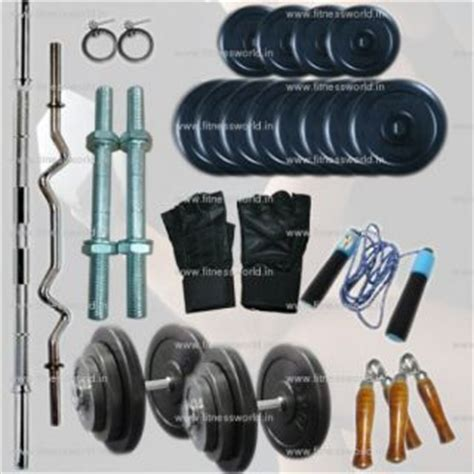 50 kg home package with 4 rods 50 kg rubber plates