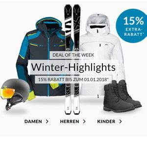 Deal Of The Week 15 At Benefit Cosmetics by Engelhorn Sports 15 Auf Winter Highlights 187 Sparblog