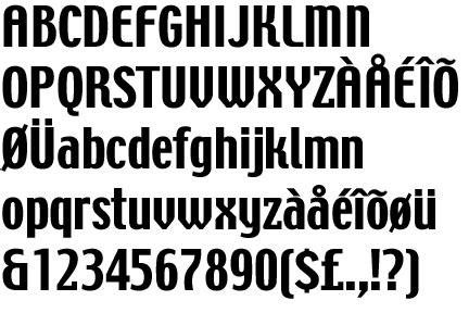 techno font identifont techno