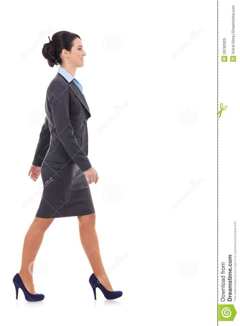 walking business side view of a business walking stock image cartoondealer 28782925
