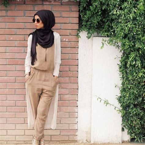 Jumpsuit Muslim how to style a with jumpsuit for islamic