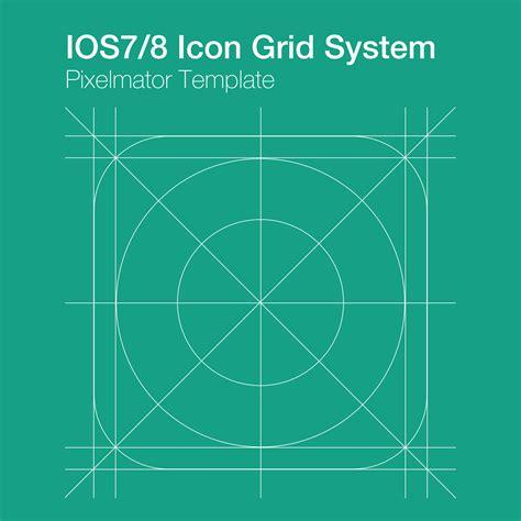 design app grid freebie ios7 ios8 app icon grid system 0
