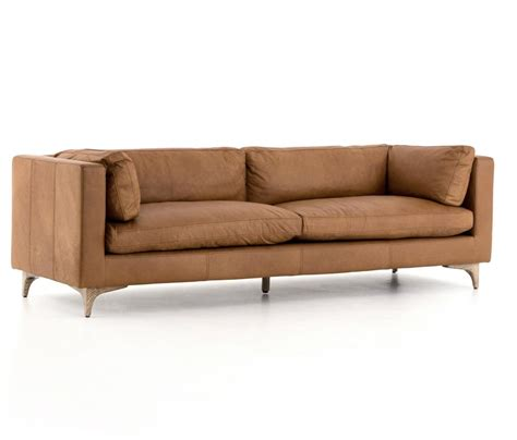 leather mid century modern sofa mid century modern couches