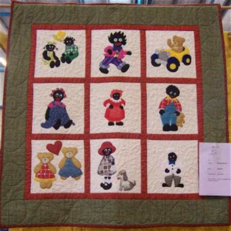 pattern for fabric golliwog toowoomba quilters club inc exhibition 2010 quilts on