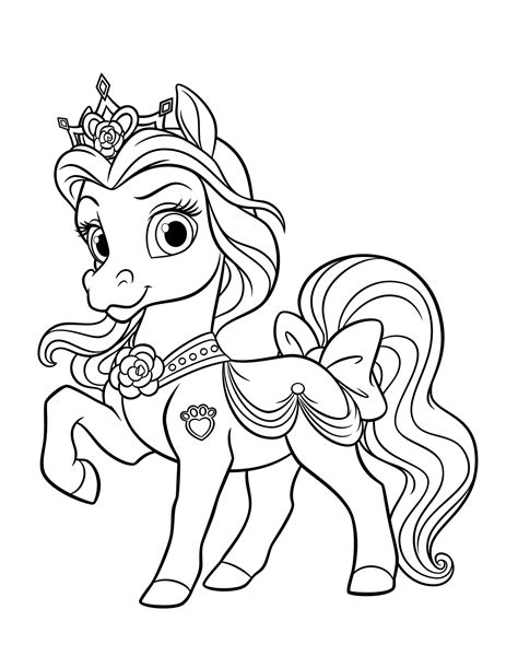 pony royale coloring pages coloring page pony petit
