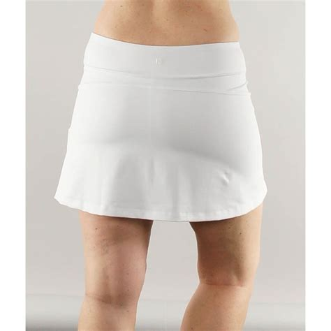 Flirty Skirts by Fila Flirty Skirt White Tw151jf6100