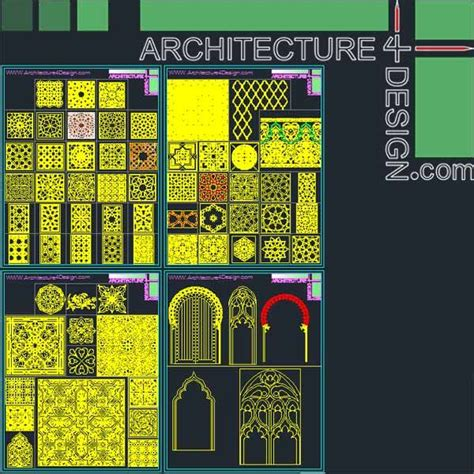 pattern islamic dwg 19 best images about islamic decoration symbols for