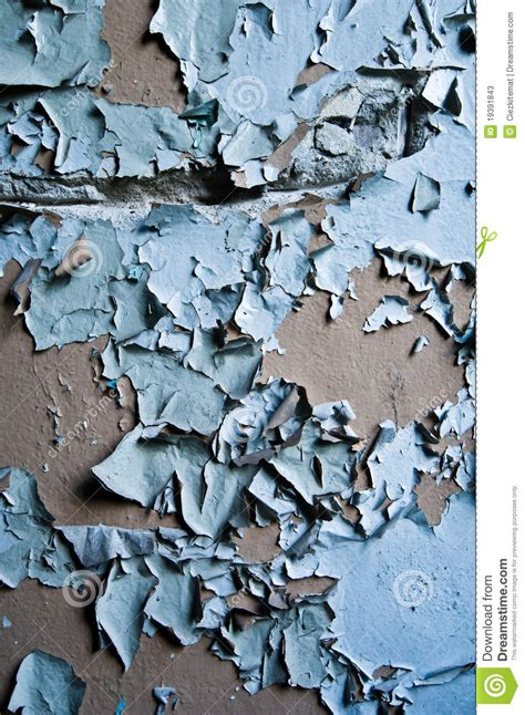 temporary peel off wall paint blue paint peeling off wall stock photos image 19391843