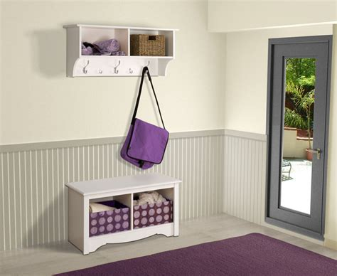 foyer minimalis contemporary entryway storage furniture rumah minimalis