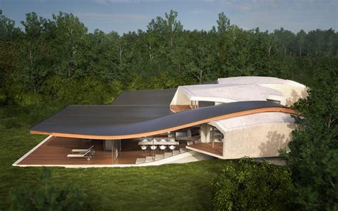 home design concepts futuristic vacation home opens up to outdoors