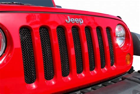 Jeep Grill Mesh Metal Crafters Chrome Plated Stainless Steel Mesh Grill