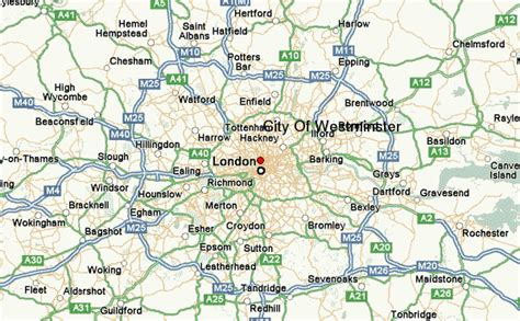 map of westminster city of westminster location guide