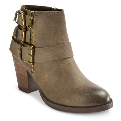 s mossimo 174 ii buckle ankle boot target