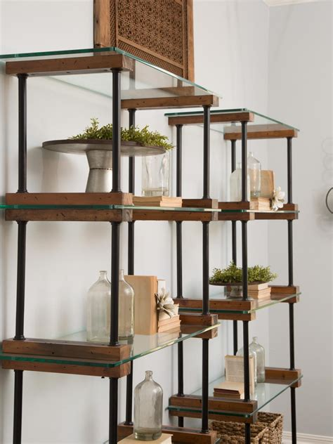 shelving in dining room hgtv