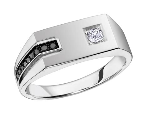 brilliant gold jewellery s ring 10k white gold mens