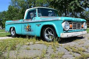 1966 dodge d 100 shop truck lowered patina hr