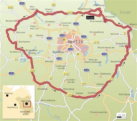 Motorradtouren Um Berlin by Tourentipp Rund Um Berlin Infos Karte Tourenfahrer