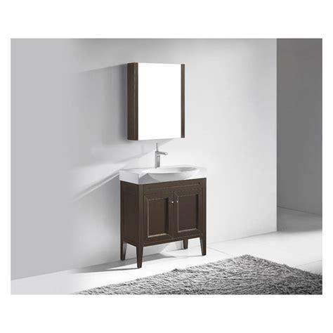 Madeli Sanremo 32 Quot Bathroom Vanity Walnut Free Bathroom Vanity Free Shipping
