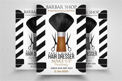 barber shop template 20 barber shop flyer template psd indesign ai format