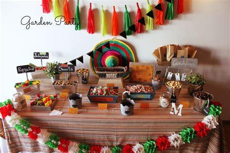 decorar mesa mexicana garden party mesas dulces m 225 laga mesa dulce para una