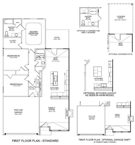 coventry homes floor plans floor plans coventry ii louisville kentucky real estate