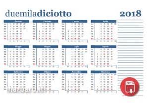 Calendario 2018 Feste Calendari 2018 Da Stare Con Le Festivit 224 Italiane