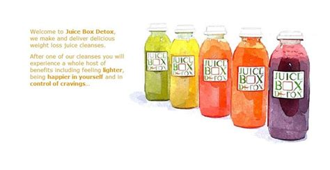 Detox Surry by Juice Box Detox Introduces Weight Loss Cleanse For New