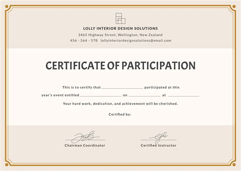 ordering a celebration of card template free blank participation certificate template in psd ms