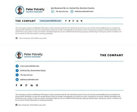 canva email signature 10 best email signature design case studies with tips on