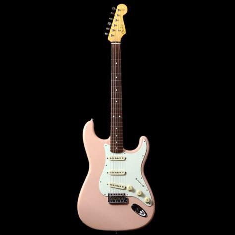 Fender Stratocaster Japan Reissue fender 62 reissue japanese stratocaster in shell pink