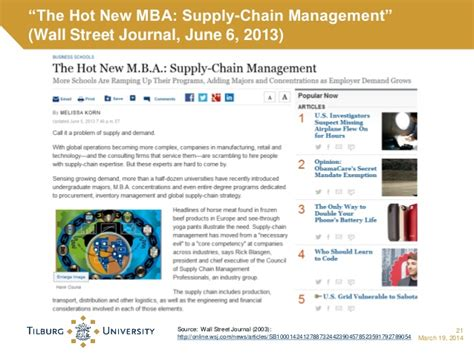 Mba Supply Chain Management Germany by Master Supply Chain Management
